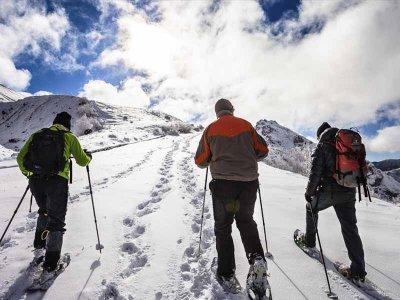 徒步2h的雪鞋行走路线Valle del Bosc