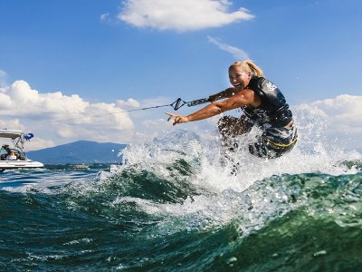 Wakeboard at Pinta beach in Costa Adeje 30 min