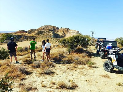 Two-seater buggy tour through Granada pastures 2 h