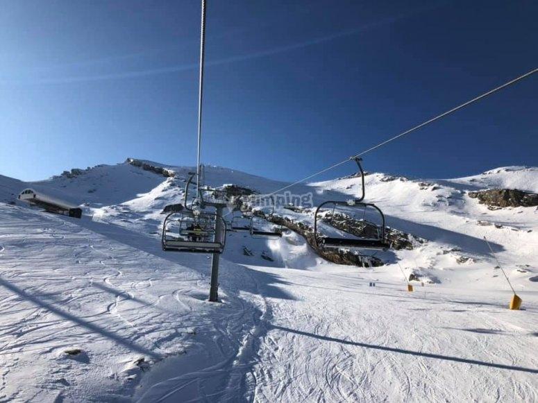 Estación de esquí Alto Campoo