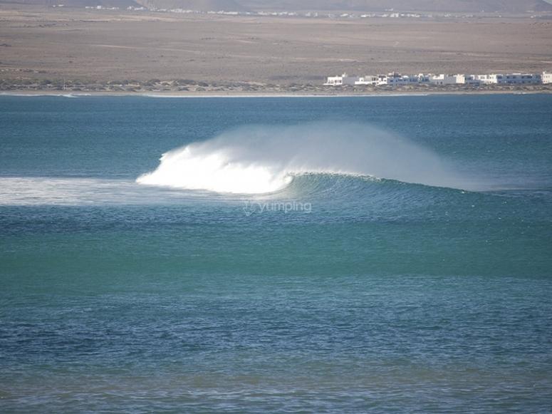 Descubriendo las olas de Famara