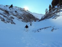 Ruta raquetas de nieve Coll de Pal 4 horas
