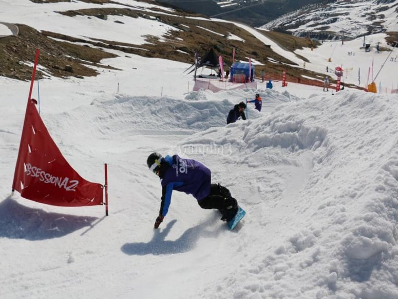 Learn snowboard