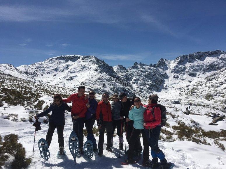 Raquetas de nieve en Ávila