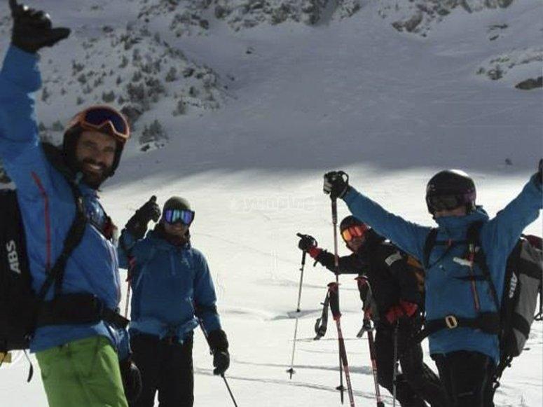 准备好一些滑雪课