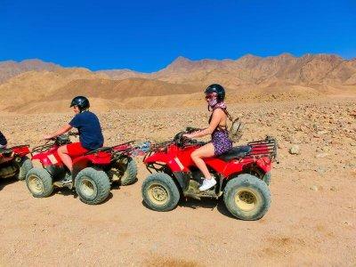 Two-seater quad route Maspalomas and Fataga 3 h