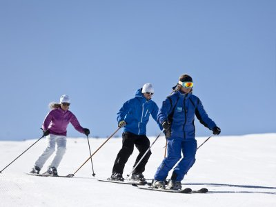 Group ski class in Baqueira Beret 3 h