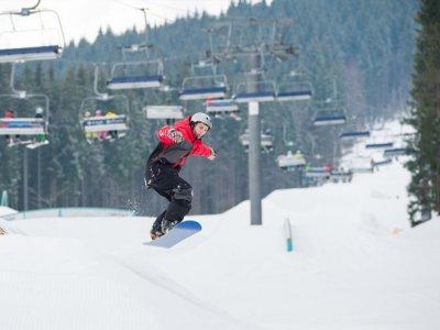 Clase de snowboard en Baqueira Beret 2 horas