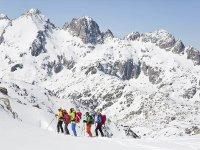 Ruta raquetas de nieve a Montgarri Valle de Arán