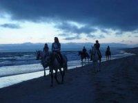 加的斯及其在马背上的海滩