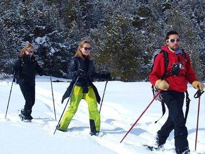 Raquetas de nieve a Serrahera en el Valle de Arán