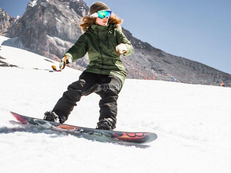 私人单板滑雪课