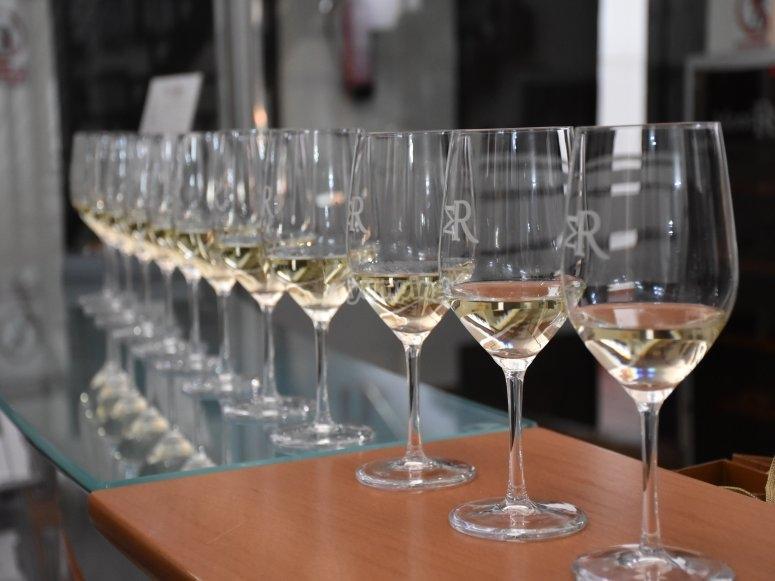 Listos para degustar vinos
