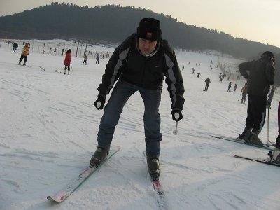 La Pinilla的初学者滑雪课3h