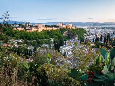 Guided night tour and tapas in Granada 2 hours