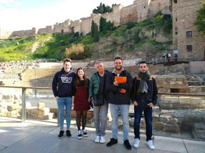 Guided tour of Alcazaba and Roman Theater Málaga