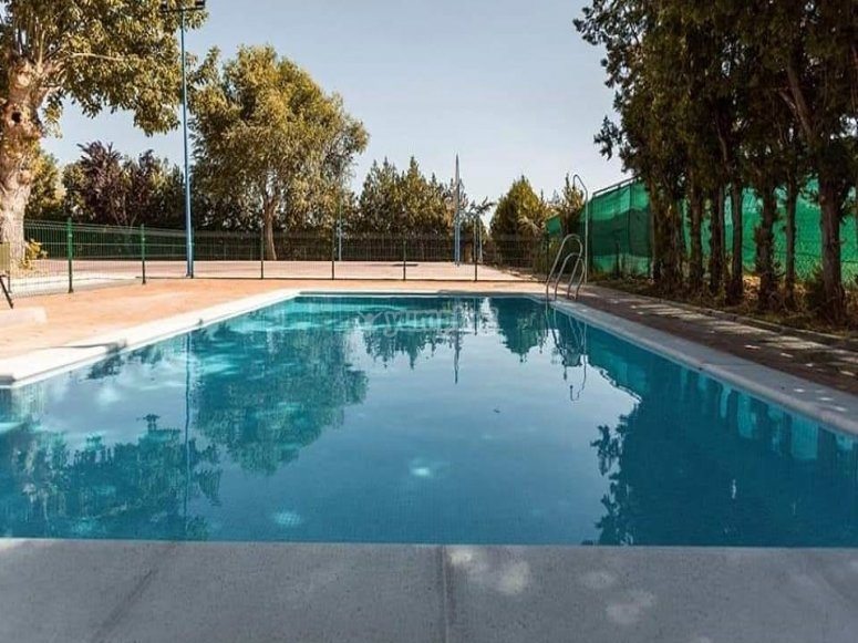 我们的综合游泳池