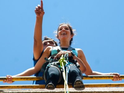 Bungee Jumping for Couples Poveda de la Sierra 3h