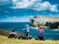 Quad excursion through Ribadesella