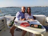 Paseo en barco y aperitivo Bahía de Cádiz 90 min