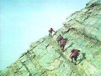 Aprende las tecnicas de progresion en roca