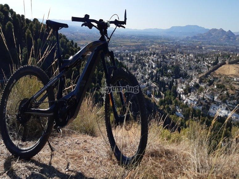 Itinerario in bicicletta attraverso la Sierra Nevada