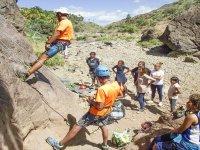 Clase de iniciación a la escalada Fátaga 4 horas