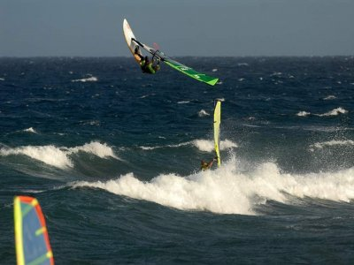 Advanced windsurfing class Pozo Izquierdo beach 3h