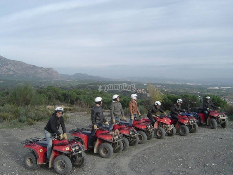 Ready for a quad route