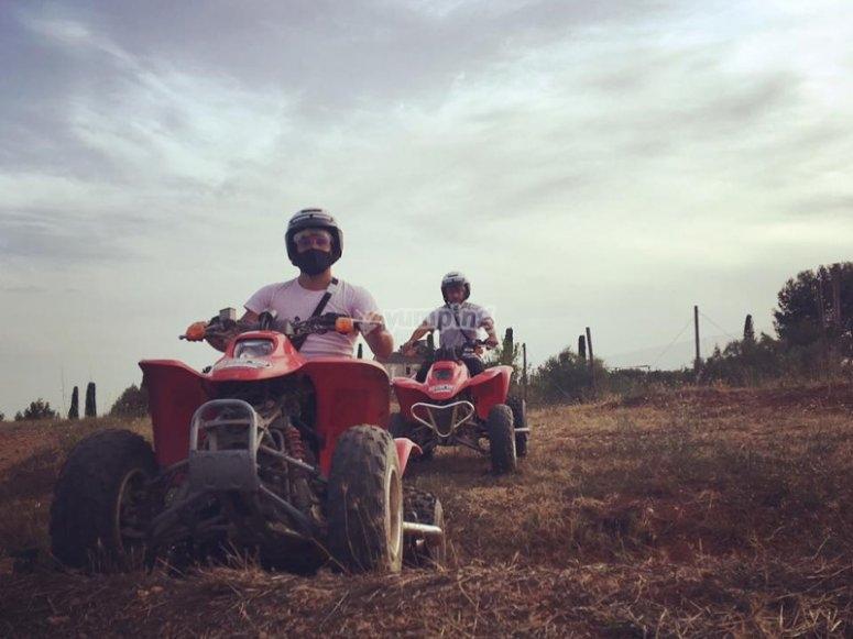 Ruta en quad al Montserrat