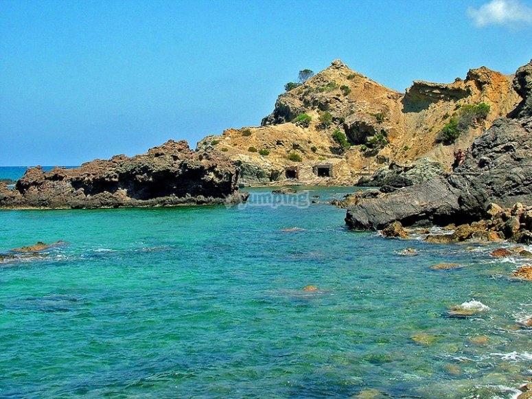 Vistas de playa de Es Figueral