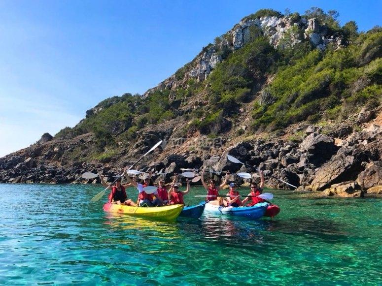 Kayak en Es Figueral
