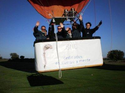 Aerodifusión Paseos en Globo Team Building