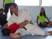 Clase de artes marciales