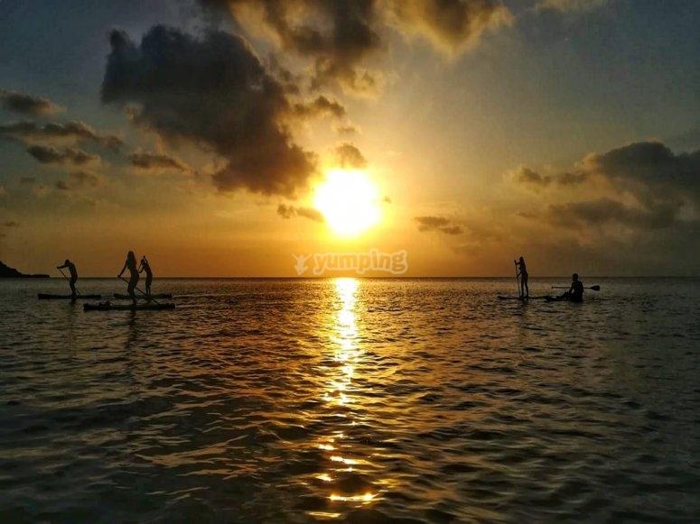 Ruta ed paddel surf