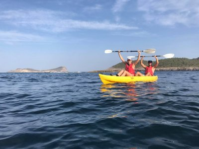Alquiler de kayak doble en Es Figueral 4 horas