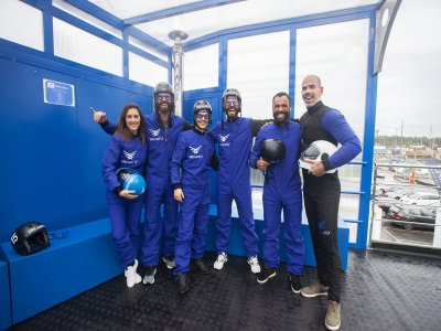 Wind tunnel 10 flights for 5 people Porto