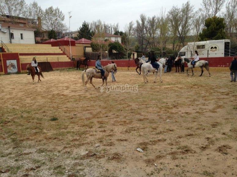 Centro equestre a Guadalajara