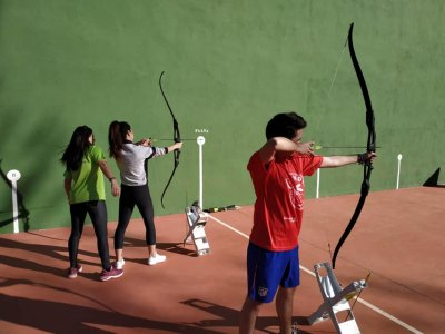 Archery in Arbancón 45 minutes