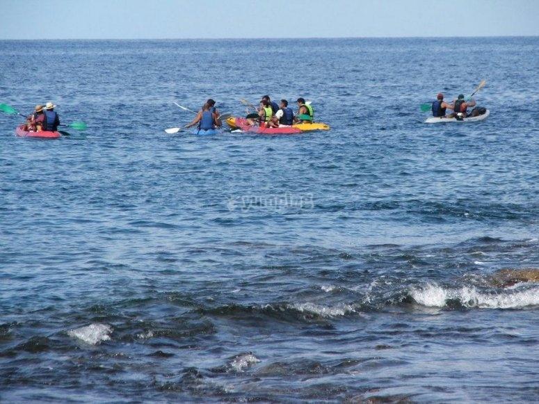 Kayak en Gran Canaria