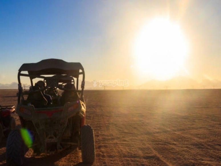 Sol y desierto