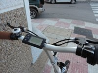 Bicycles equipped with GPS