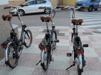 Safe and light bicycles for rent