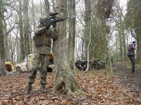 jugador disparando