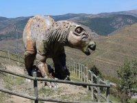 Visita al dinosaurio