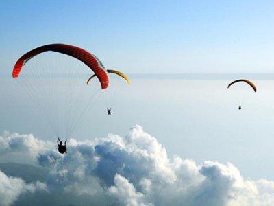 Paragliding flight from Berga 45 minutes