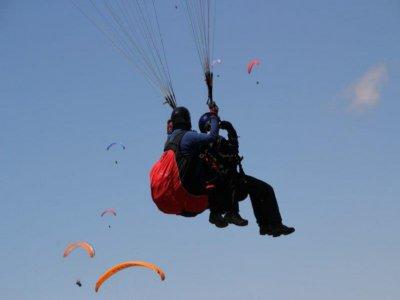 Paragliding flight from Berga 60 minutes