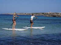 Alumnos Paddle surf
