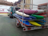 Our canoes