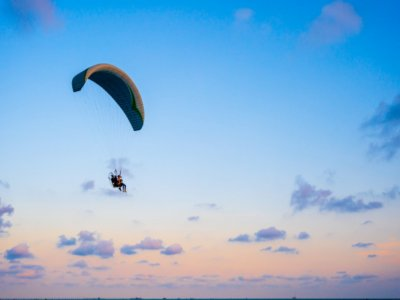 Paragliding flight from Igualada 30 minutes